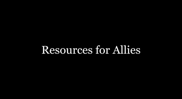 Becoming Allies: Resources on Race and Racial Justice